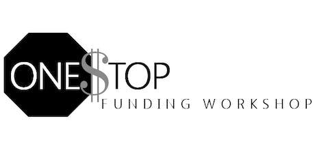One Stop Funding Workshop September 11, 2019  tickets