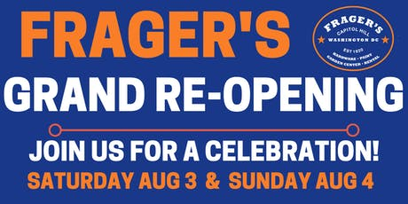 Frager's Grand Re-Opening tickets