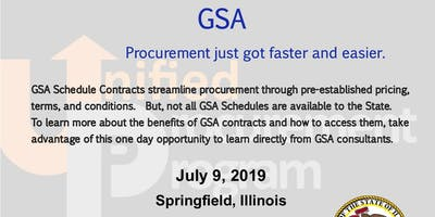 GSA Schedule Contracts Training presented by UPP