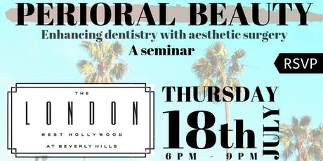 Perioral Beauty - Enhancing dentistry with aesthetic surgery tickets