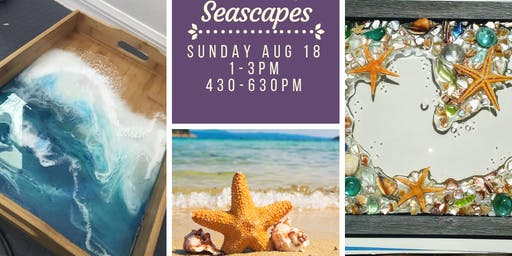 Mermaid Resin Magic Seascapes