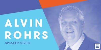 Speaker Series: Alvin Rohrs