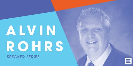 Speaker Series: Alvin Rohrs tickets