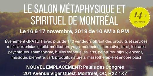 Le Salon Métaphysique et Spirituel de Montréal