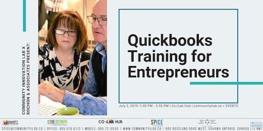 Quickbooks Training for Entrepreneurs