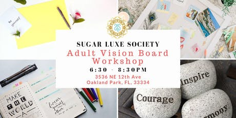 Adult Vision Board Workshop tickets