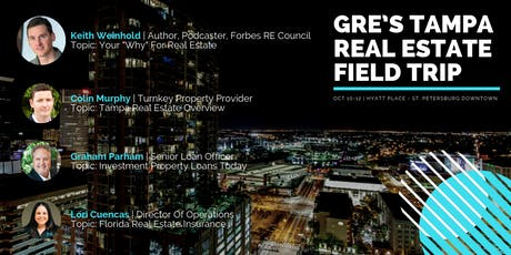 GRE's Tampa Real Estate Field Trip tickets