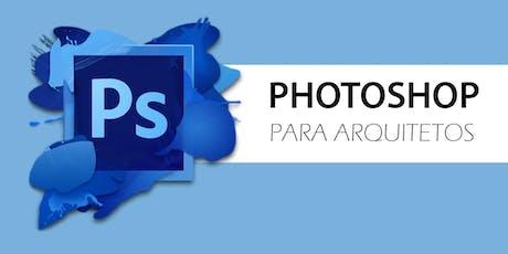 Curso Photoshop para Arquitetos ingressos