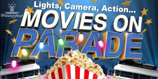 Lights, Camera, Action ... Movies on Parade - Seminole Hard Rock Winterfest Boat Parade 2019