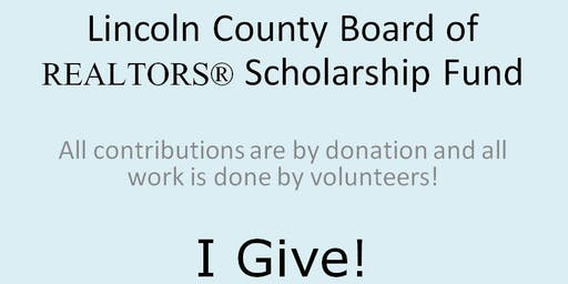 LCBR Scholarship Fund - I GIVE!