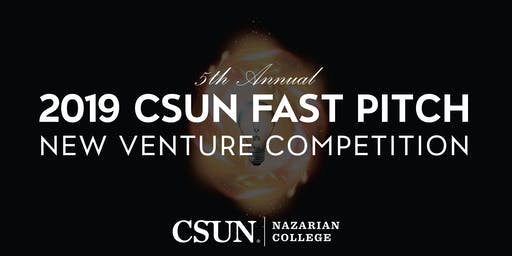 2019 CSUN Fast Pitch New Venture Competition