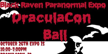 Black Raven Paranormal Expo & DraculaCon Ball tickets
