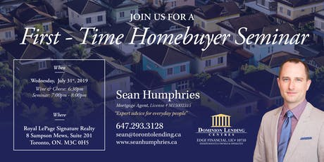 First-Time Homebuyer Seminar - Tips to Get Yourself Financially Ready - July 31st tickets