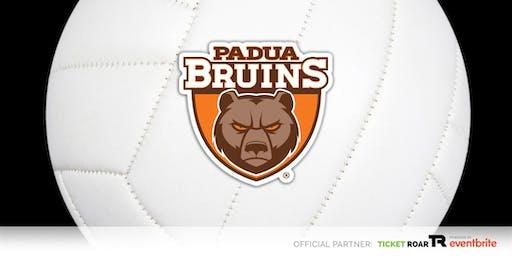Padua Franciscan vs St Joseph Varsity Volleyball