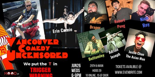 Vancouver Comedy Uncensored