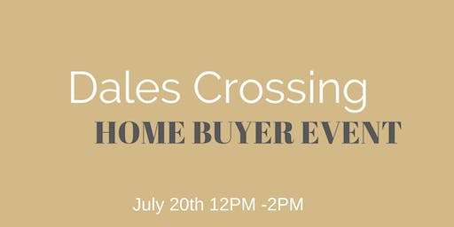 Dales Crossing Home Buyer Event