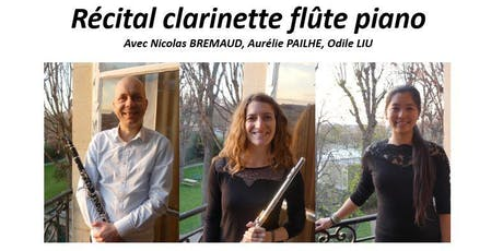 27 juin 2019 - Récital clarinette flûte piano billets