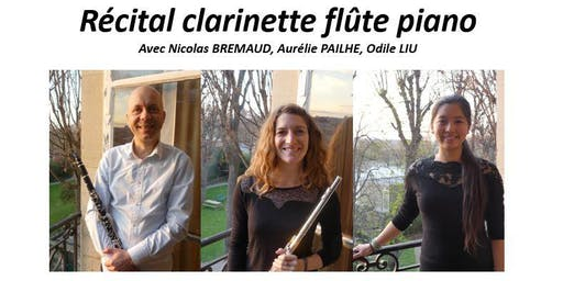 27 juin 2019 - Récital clarinette flûte piano