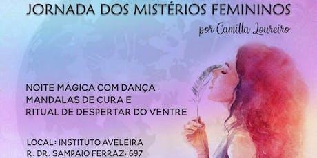 Jornada Despertar dos Mistérios Femininos Campinas ingressos