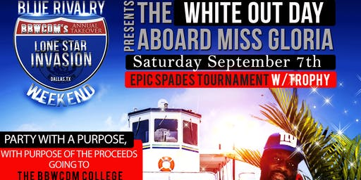 The Blue Rivalry Weekend White Out Mid-Day Party Cruise