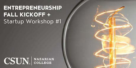 2019 CSUN Entrepreneurship Kickoff tickets