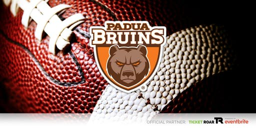 Padua Franciscan vs Holy Name Varsity Football