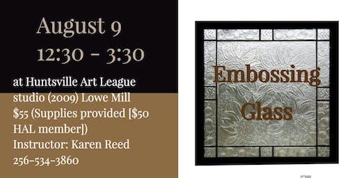 Embossing Glass