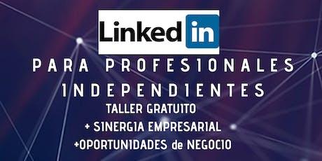 LINKEDIN para profesionales independientes / Sinergia Empresarial Oeste! entradas