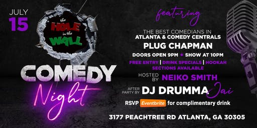 Hole in the wall Comedy Night Upgraded