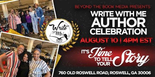 Write With Me Author Celebration