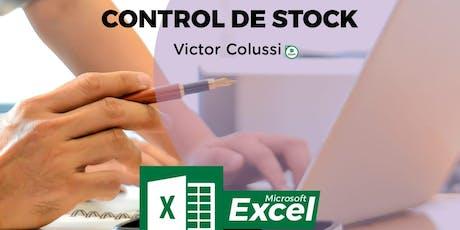 Taller Excel Control de Stock ($200) entradas