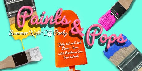 Paints and Pops Summer Kick-off Party tickets