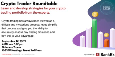 Crypto Trader Roundtable tickets
