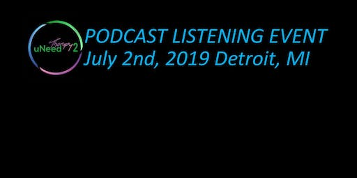 uNeedTherapy2 Podcast Listening Event