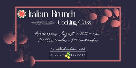 Italian Brunch - Cooking Class  tickets