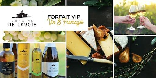 Visite, dégustation et cadeaux au Domaine de Lavoie