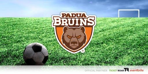 Padua Franciscan vs Chardon JV/Varisty Soccer (Boys)