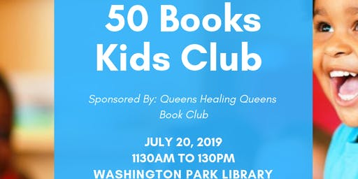 50 Books Kids Club - Book Club Meeting