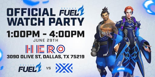 Dallas Fuel vs. NYXL Official Watch Party @ Hero