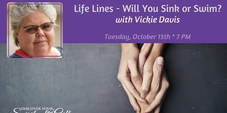 Scientific Hand Analysis: Life Lines - Will You Sink or Swim? tickets