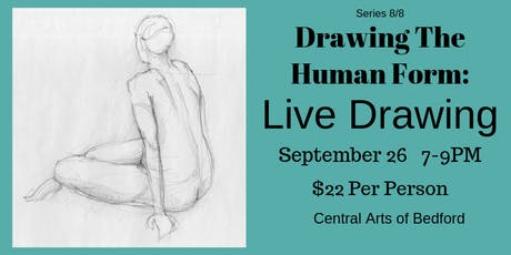 Drawing the Human Form: Live Drawing  tickets