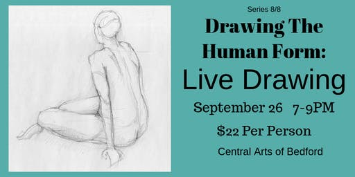 Drawing the Human Form: Live Drawing