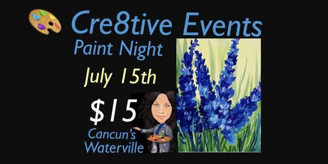 $15 Paint night at Cancun's in Waterville tickets