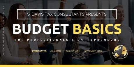 BUDGET BASICS FOR PROFESSIONALS + ENTREPRENEURS tickets