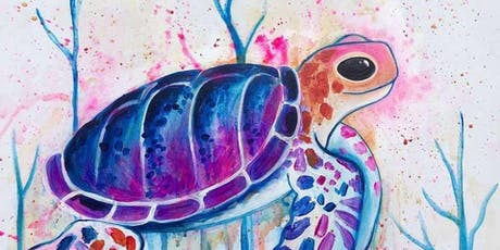 Serene Sea Turtle Tuesday Afternoon Paint Party! tickets