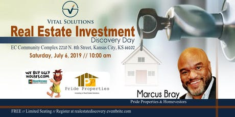 Real Estate Investment Discover Day tickets