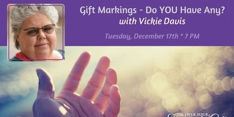 Scientific Hand Analysis: Gift Markings - Do YOU Have Any? tickets
