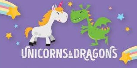 Unicorns & Dragons Party tickets