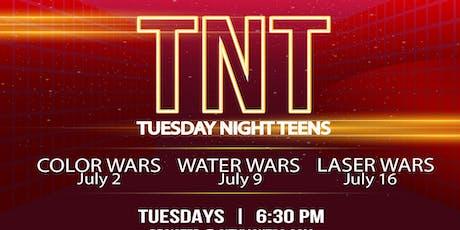 TNT Teen Night Tuesdays tickets