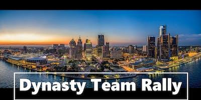 Dynasty Team Rally in Detroit